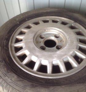 На хонду 1 колесо