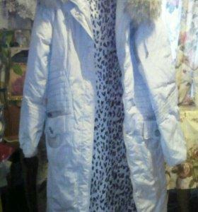 Продам пуховик -пальто