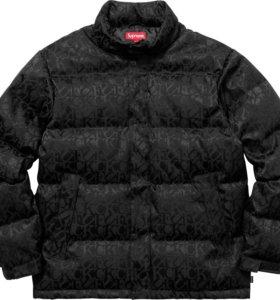 Пуховик Supreme F*ck Jacquard Puffy Jacket