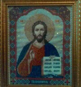 Картины, иконы бисером