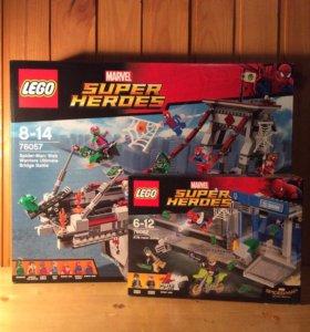 LEGO Super Heroes 76057, 76082 (Лего Человек-Паук)