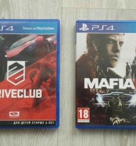 Mafia 3 и Driveclub PS4