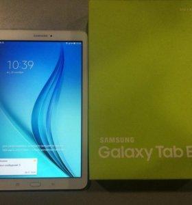 Новый Планшет SAMSUNG Galaxy Tab E 3G 8GB White