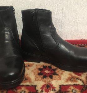 Зимние туфли (ботинки) мужские 40