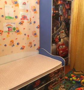 Шкаф+кровать+матрас! Срочно!!!!