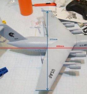 Радиоуправляемая модель самолёта С-17