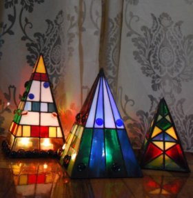 Светильник новогодний «Тиффани»