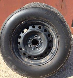 Колёса с всесезонной резиной Goodrich 225х70х16