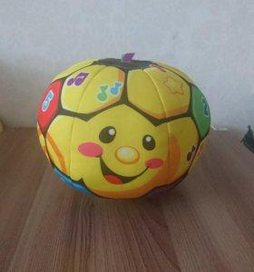 Музыкальный мяч Fisher price + подарок