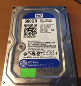 Жесткий диск hdd sata 500 gb