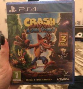 Crash bandicoot НОВАЯ