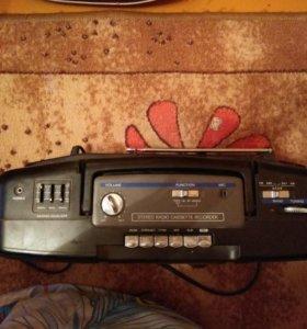 Радио магнитофон