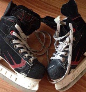 Хоккейные коньки 19,5