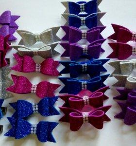 Резинки,игрушки новогодние венки ручной работы