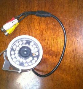 Камера наблюдения с ифрокрасным сфветоидеодами