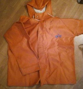 Резиновые штаны, куртка, рукавицы