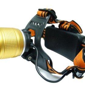 Налобный фонарь Boruit RJ-3000. Полный компл. Новы