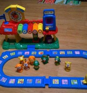 Железная дорога развивающая
