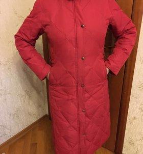 Пальто на пуху