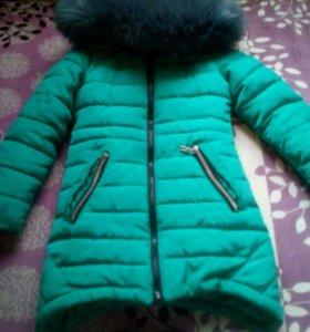 Зимняя куртка(парка) для девочки