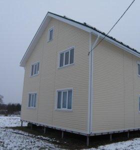 Строительство Каркасных домов в Зимний период.