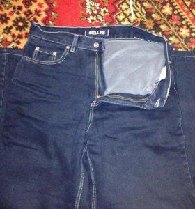 джинсы утепленные