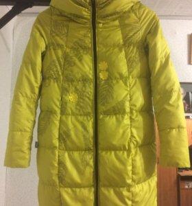 Пуховая куртка р.40-42