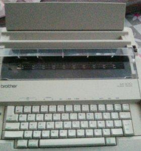 Печатная машинка электрическая .