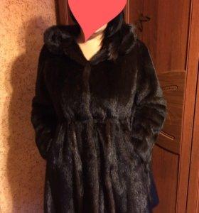 Шуба норковая 56-62 размер