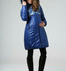 Пальто зимнее для беременных Modress