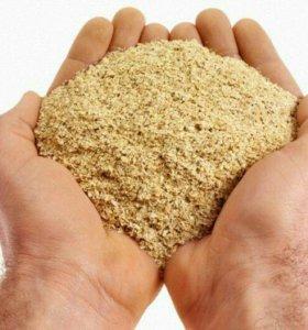 Отруби, жмых, кукуруза, ракушка кормовая