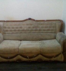 Диван трансформер(угловой диван и кресло)