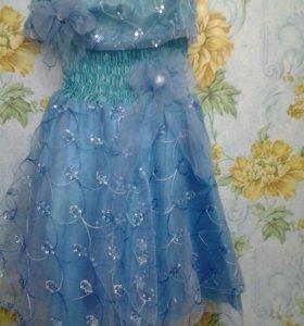 Новогодние детское платье