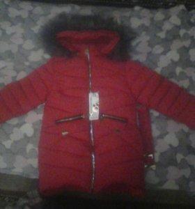 Куртка зимняя, р.34