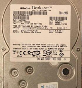 Жесткий диск для ПК 750Гб