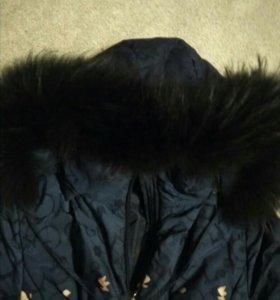 Куртка-пуховик для беременной