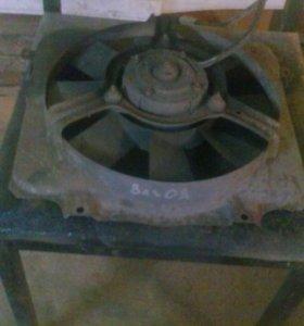 Ваз 2109,вентилятор.