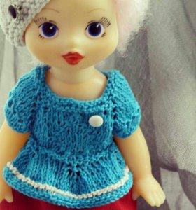 Кукла Сюз.Винтажная кукла.