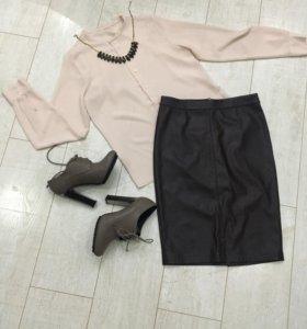 Юбка и блузка комплект