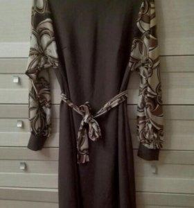Красивое платье р.46-48, состояние нового