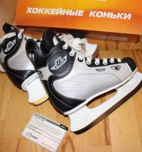 Хоккейные коньки детские SC profy 3500 Б/У 34р.