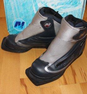 Комплект ботинки Nordway Vega Dark Grey и лыжи Б/У