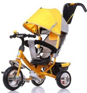 Велосипед детский трехколесный RoadWeller Yellow