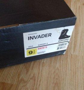 Ботинки для сноуборда Burton Invader Black/White