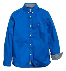 Новая рубашка фирмы Эйч энд Эм на рост 146-152