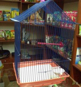 Клетки для попугаев новые