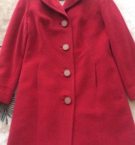 Пальто кашемировое Caterina