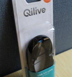 продам новый кабель USB 3.0