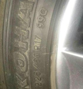 Всесезонные шины на литье