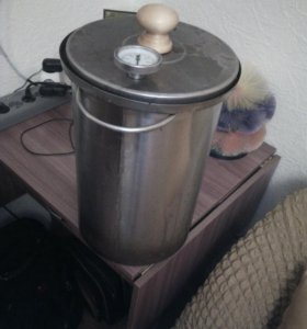 Коптильный аппарат с гидрозатвором домашний